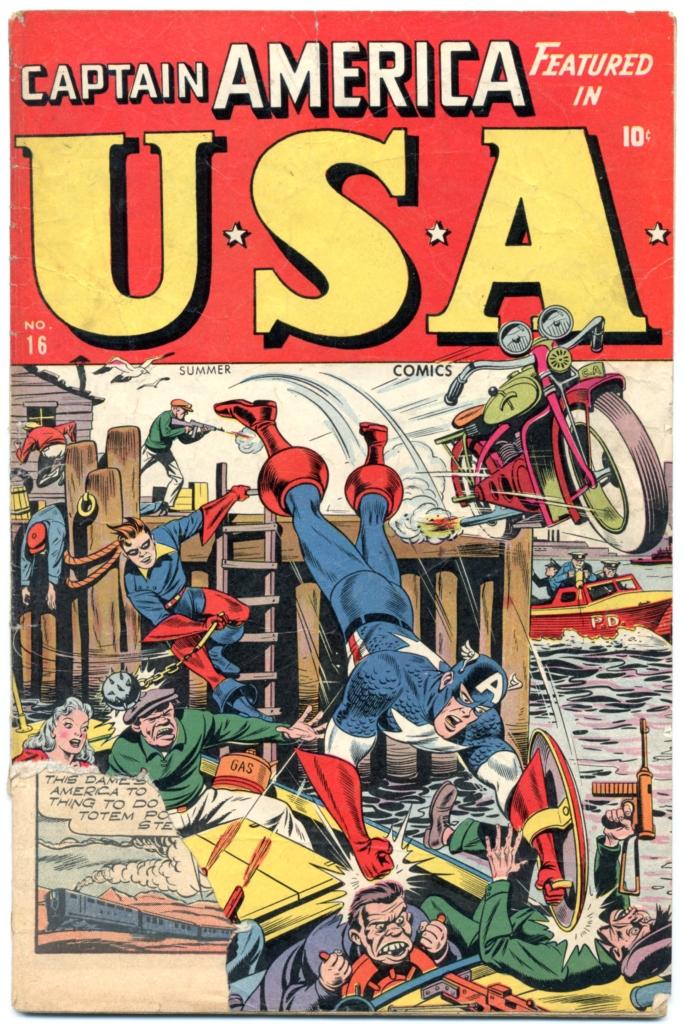 USA Comics #16